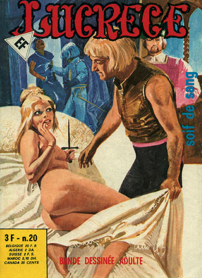 Cover for Lucrece (Elvifrance, 1972 series) #20