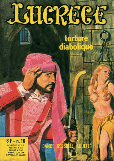 Cover for Lucrece (Elvifrance, 1972 series) #10