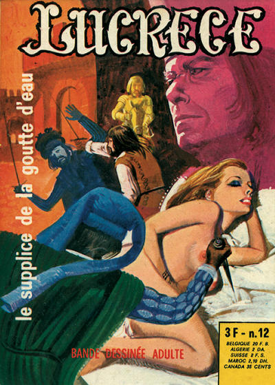 Cover for Lucrece (Elvifrance, 1972 series) #12