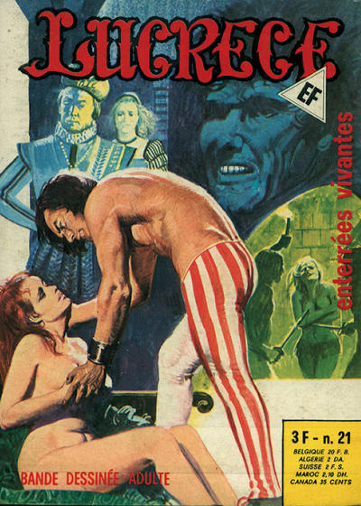 Cover for Lucrece (Elvifrance, 1972 series) #21