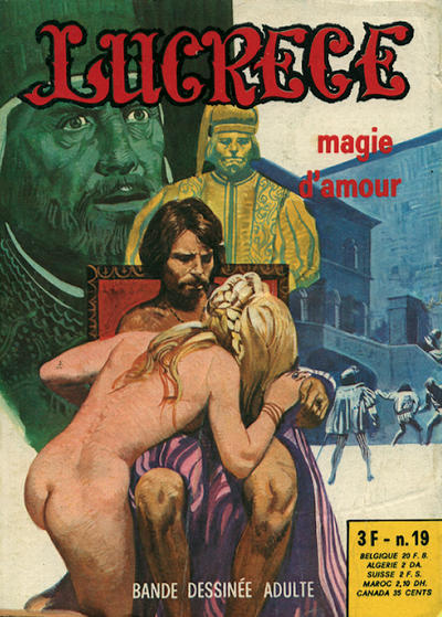 Cover for Lucrece (Elvifrance, 1972 series) #19