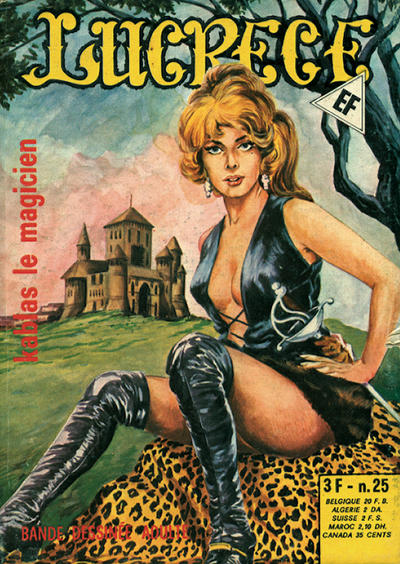 Cover for Lucrece (Elvifrance, 1972 series) #25