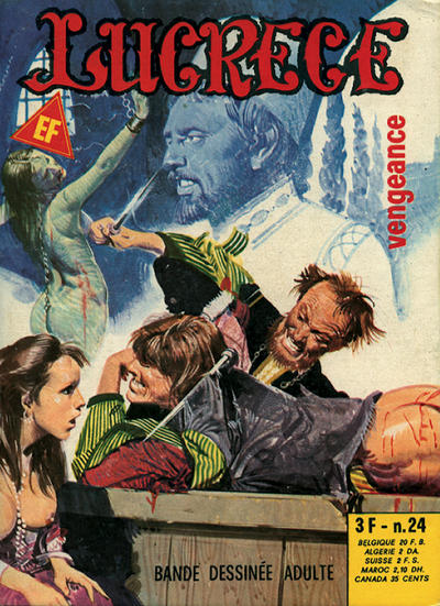 Cover for Lucrece (Elvifrance, 1972 series) #24