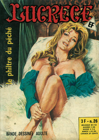 Cover for Lucrece (Elvifrance, 1972 series) #26