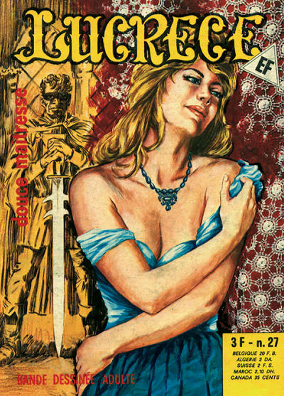 Cover for Lucrece (Elvifrance, 1972 series) #27