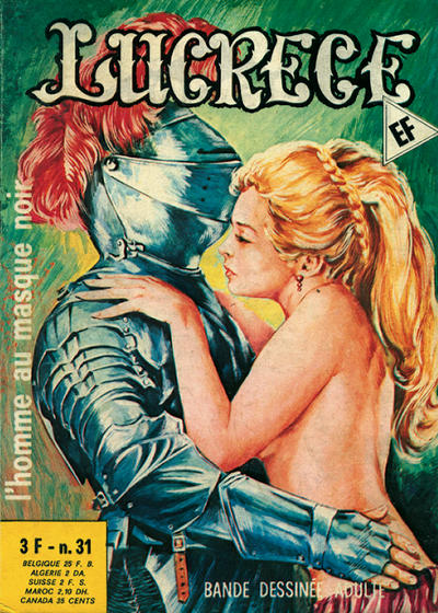 Cover for Lucrece (Elvifrance, 1972 series) #31
