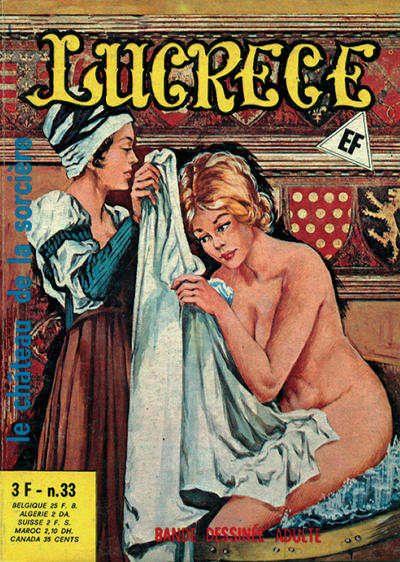 Cover for Lucrece (Elvifrance, 1972 series) #33