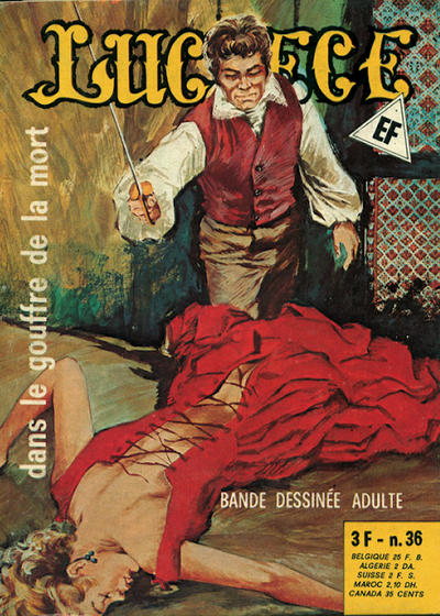 Cover for Lucrece (Elvifrance, 1972 series) #36