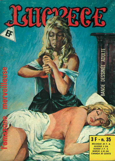 Cover for Lucrece (Elvifrance, 1972 series) #35