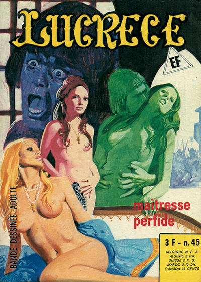 Cover for Lucrece (Elvifrance, 1972 series) #45