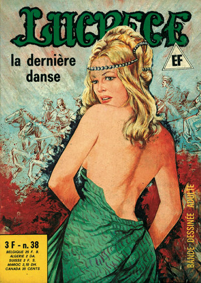 Cover for Lucrece (Elvifrance, 1972 series) #38