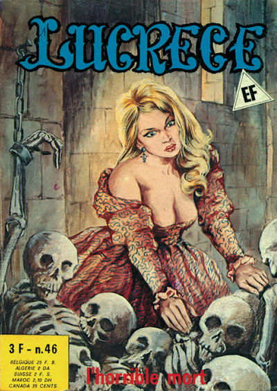 Cover for Lucrece (Elvifrance, 1972 series) #46