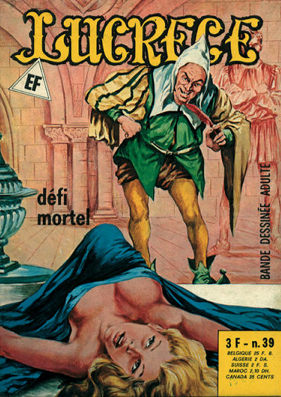 Cover for Lucrece (Elvifrance, 1972 series) #39