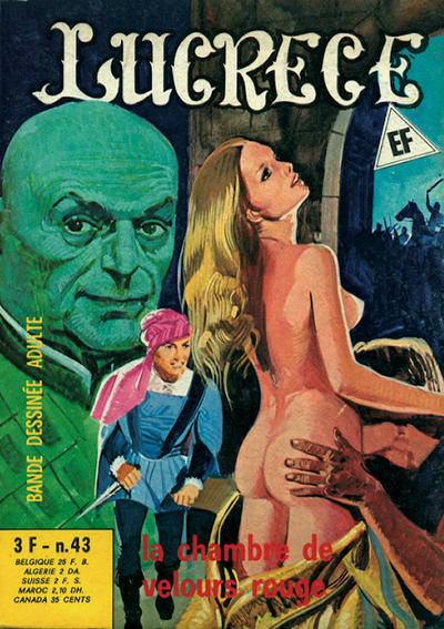 Cover for Lucrece (Elvifrance, 1972 series) #43