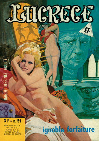 Cover for Lucrece (Elvifrance, 1972 series) #51