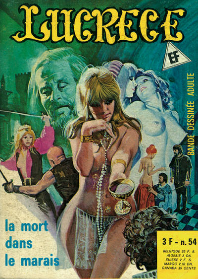 Cover for Lucrece (Elvifrance, 1972 series) #54