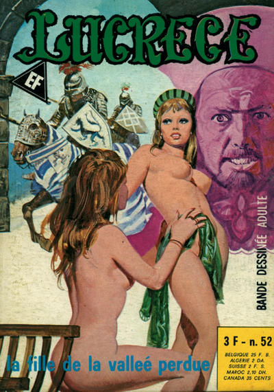 Cover for Lucrece (Elvifrance, 1972 series) #52