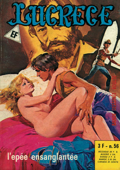 Cover for Lucrece (Elvifrance, 1972 series) #56