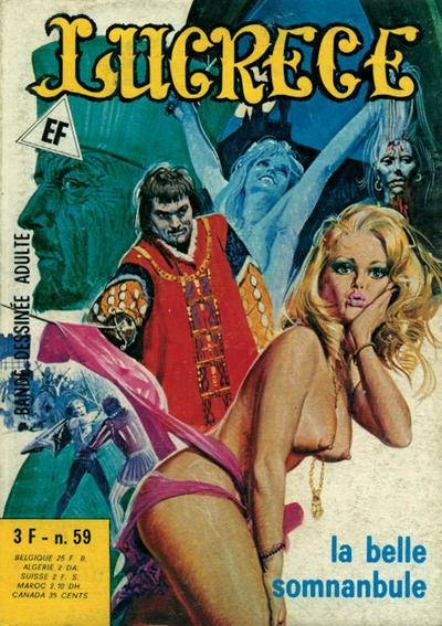 Cover for Lucrece (Elvifrance, 1972 series) #59