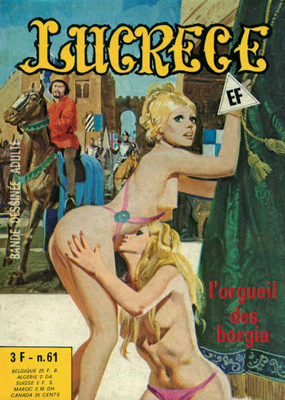 Cover for Lucrece (Elvifrance, 1972 series) #61