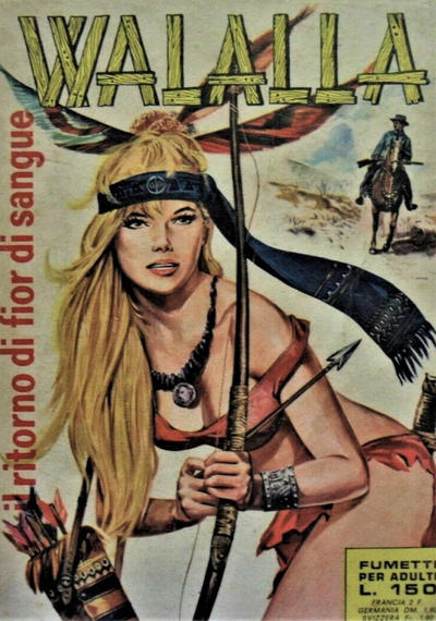Cover for Walalla (Ediperiodici, 1969 series) #17