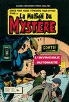 Cover for La Maison du Mystère (Arédit-Artima, 1975 series) #5