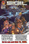 Cover for Sigil (CrossGen, 2000 series) #1 [Customer Review Copy]