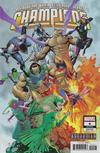 Cover for Champions (Marvel, 2019 series) #4 (31) [Khoi Pham 'Asgardian']