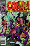 Cover for Conan the Barbarian (Marvel, 1970 series) #185 [Newsstand]