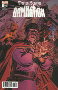 Cover Thumbnail for Doctor Strange Damnation (Marvel, 2018 series) #1 [Greg Smallwood Connecting]