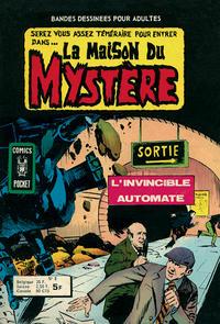 Cover Thumbnail for La Maison du Mystère (Arédit-Artima, 1975 series) #5