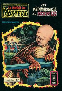 Cover Thumbnail for La Maison du Mystère (Arédit-Artima, 1975 series) #12