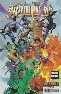 Cover Thumbnail for Champions (Marvel, 2019 series) #4 (31) [Khoi Pham 'Asgardian']