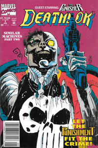 Cover Thumbnail for Deathlok (Marvel, 1991 series) #7 [Newsstand]