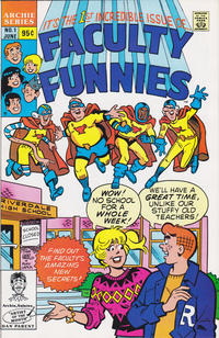 Cover Thumbnail for Faculty Funnies (Archie, 1989 series) #1 [Direct]