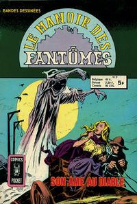 Cover Thumbnail for Le Manoir des Fantômes (Arédit-Artima, 1975 series) #9