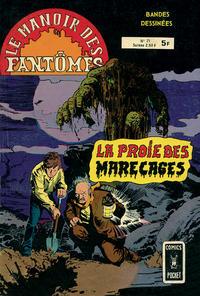 Cover Thumbnail for Le Manoir des Fantômes (Arédit-Artima, 1975 series) #21