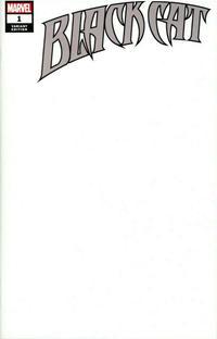 Cover Thumbnail for Black Cat (Marvel, 2019 series) #1 [Blank Cover]
