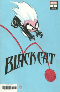 Cover Thumbnail for Black Cat (Marvel, 2019 series) #1 [Skottie Young]