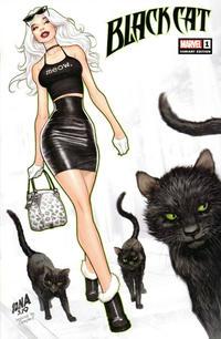 Cover Thumbnail for Black Cat (Marvel, 2019 series) #1 [KRS Comics Exclusive - David Nakayama]