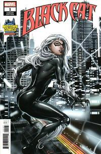 Cover Thumbnail for Black Cat (Marvel, 2019 series) #1 [Midtown Comics Exclusive - Clayton Crain]