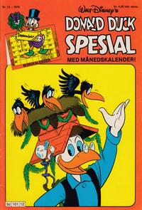 Cover Thumbnail for Donald Duck Spesial (Hjemmet / Egmont, 1976 series) #12/1979