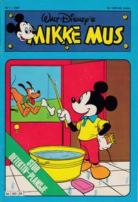 Cover Thumbnail for Mikke Mus (Hjemmet / Egmont, 1980 series) #1/1981