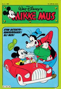 Cover Thumbnail for Mikke Mus (Hjemmet / Egmont, 1980 series) #2/1981