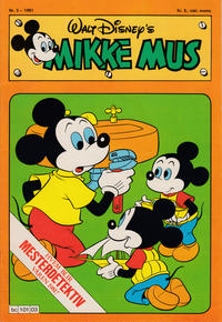 Cover Thumbnail for Mikke Mus (Hjemmet / Egmont, 1980 series) #3/1981
