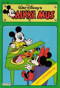 Cover Thumbnail for Mikke Mus (Hjemmet / Egmont, 1980 series) #4/1981