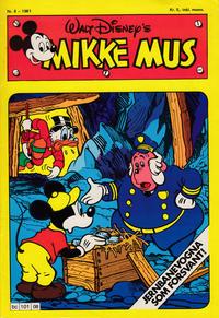 Cover Thumbnail for Mikke Mus (Hjemmet / Egmont, 1980 series) #8/1981