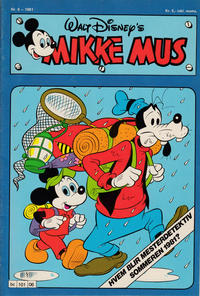 Cover Thumbnail for Mikke Mus (Hjemmet / Egmont, 1980 series) #6/1981