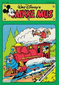 Cover Thumbnail for Mikke Mus (Hjemmet / Egmont, 1980 series) #7/1981