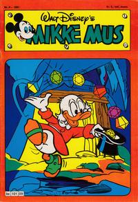 Cover Thumbnail for Mikke Mus (Hjemmet / Egmont, 1980 series) #9/1981